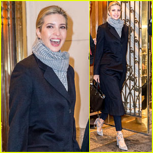 Ivanka Trump Heads to Work with Extra Security