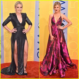 Jamie Lynn Spears Hits CMA Awards 2016 with Nominee Kelsea Ballerini