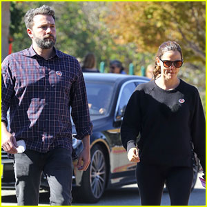 Jennifer Garner & Ben Affleck Vote Together on Election Day!
