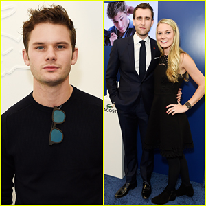 Jeremy Irvine & Matthew Lewis Hit Up Lacoste VIP Lounge For ATP World Finals 2016!