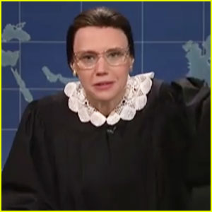 VIDEO: Kate McKinnon's Ruth Bader Ginsburg Gives Perfect Post-Election Hope