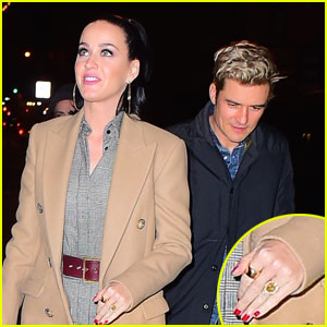 Are Katy Perry & Orlando Bloom Engaged? She Has a Ring!