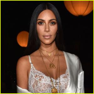 Kim Kardashian Returns to Social Media - Sorta!