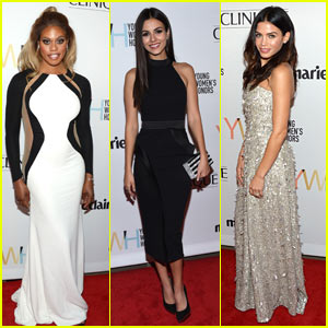 Laverne Cox & Jenna Dewan Tatum Go Glam for Marie Claire's Young Women's Honors