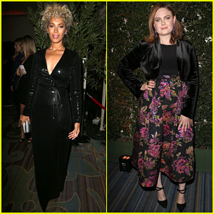 Leona Lewis, Emily Deschanel, & More Attend Farm Sanctuary's Gala