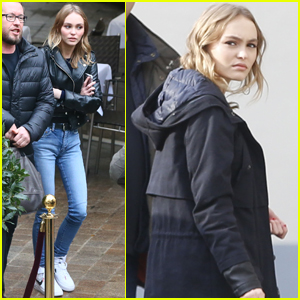 Lily-Rose Depp Keeps Good Luck Charms In Her Purse!