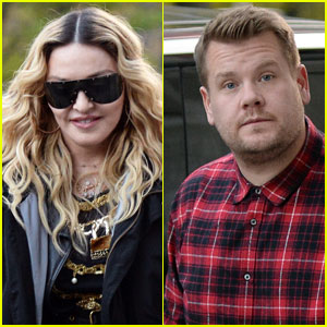Madonna Announces 'Carpool Karaoke' With James Corden!
