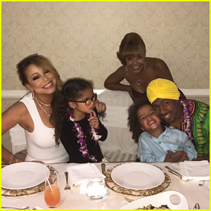 Mariah Carey Celebrates Thanksgiving In Hawaii With Kids & Ex Nick Cannon!