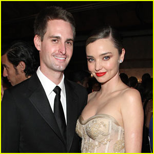 Miranda Kerr & Fiance Evan Spiegel Couple Up for the Baby2Baby Gala!