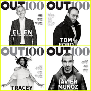 Ellen DeGeneres, Tom Ford, & More Honored for Out100!