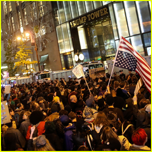 Protests Against Donald Trump Erupt Across the US