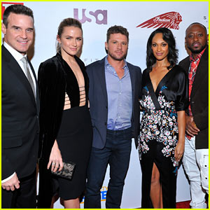 Ryan Phillippe & 'Shooter' Cast Step Out for 'TV Guide Magazine' Cover Party
