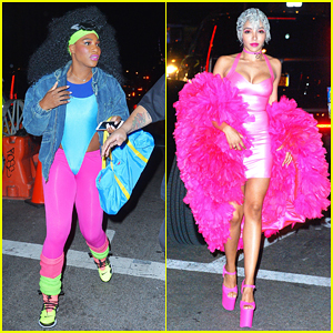 Serena Williams & Tinashe Bring Color To Heidi Klum's 2016 Halloween Party