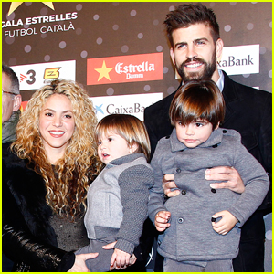 Shakira & Gerard Pique Step Out With Sons After Sasha's Health Scare