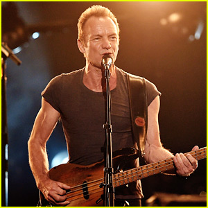 VIDEO: Sting Performs Medley of His Hits at AMAs 2016!