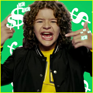 VIDEO: Stranger Things' Gaten Matarazzo Raps in Old Navy's Black Friday Commercial!