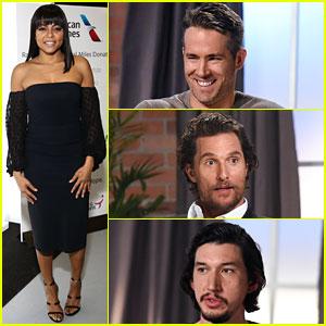 Taraji P. Henson & Ryan Reynolds Sit Down with Variety Ahead of Awards Season!