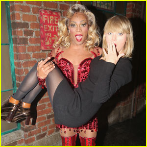 Taylor Swift Visits Pal Todrick Hall at Broadway's 'Kinky Boots'!