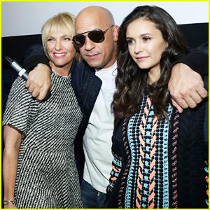Vin Diesel & Nina Dobrev Kick Off 'xXx: Return of Xander Cage' Press At Surprise L.A Screening!
