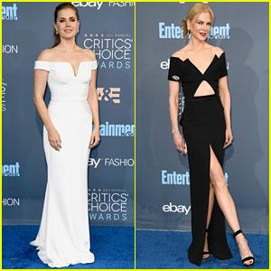 Amy Adams & Nicole Kidman Go Glam for Critics' Choice Awards 2016