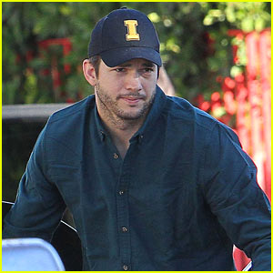 Ashton Kutcher Makes First Public Appearance After New Baby Dimitri's Birth!