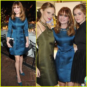 Britt Robertson, Zoey Deutch & Halston Stage Step Out at 'Dior' Event