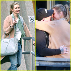 Cameron Diaz & Benji Madden Pack on The PDA!
