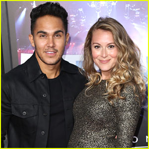 Carlos & Alexa PenaVega Share First Pictures of New Son - Meet Ocean!