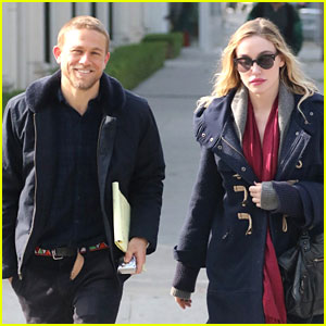 Charlie Hunnam Debuts Short Haircut with Girlfriend Morgana McNelis!