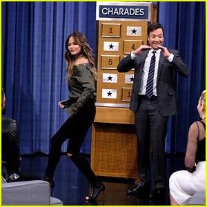 VIDEO: Chrissy Teigen & John Legend Play Charades on 'Fallon,' Prove They're a Perfect Couple!