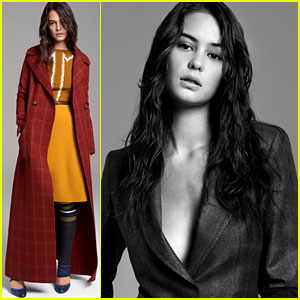 Courtney Eaton Models Carolina Herrera's Pre-Fall 2017 Collection