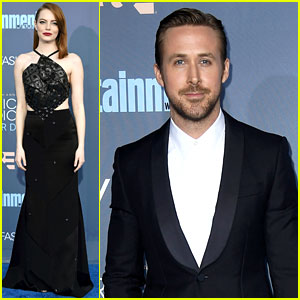 La La Land's Emma Stone & Ryan Gosling Attend Critics' Choice Awards 2016!