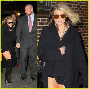 Fergie Steps Out with Kim Kardashian's Former Bodyguard