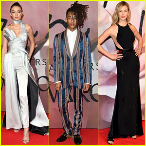 Gigi Hadid, Jaden Smith, & Karlie Kloss Don Their Finest for Fashion Awards 2016