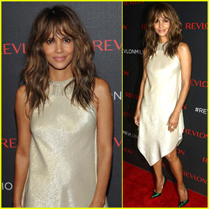 Halle Berry Shines at Revlon's 'Love is On Million Dollar Challenge' Party!