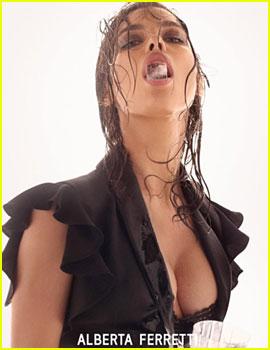 Irina Shayk Stars in Sexy Alberta Ferretti Campaign!