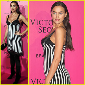 Irina Shayk Puts Baby Bump on Display at Victoria's Secret Fashion Show 2016 After Party