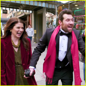 VIDEO: Billy Eichner Plays 'It's Debra Messing You Gays' for the Holidays!