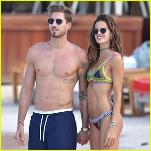 Izabel Goulart & Soccer Player Beau Kevin Trapp Are Picture Perfect in St. Barts!