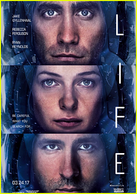 Jake Gyllenhaal & Ryan Reynolds' Movie 'Life' Gets New Poster!