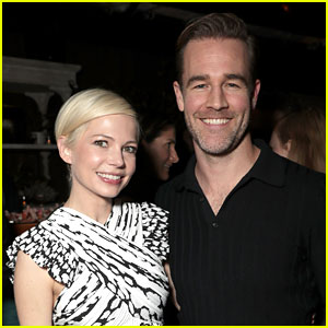 James Van Der Beek & Michelle Williams Reunite for First Time in Years!