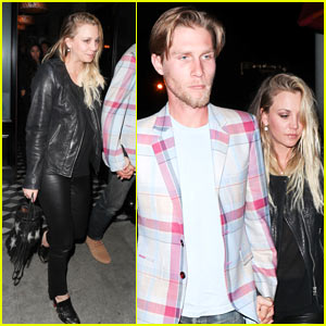 Kaley Cuoco Rings in Her 31st Birthday with Boyfriend Karl Cook!