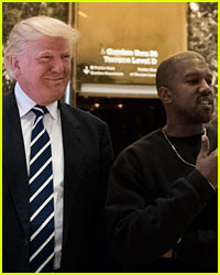 Kanye West Wasn't the Only Star to Meet with Donald Trump Today