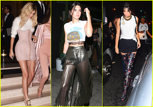 Kendall Jenner Picks Out Her Craziest Looks of 2016