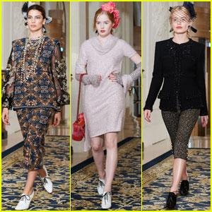 Kenya Kinski-Jones & More Famous Offspring Star in Chanel's Stunning Paris Presentation