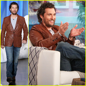 VIDEO: Matthew McConaughey Tells Ellen He Had 'Fun' Gaining Weight For 'Gold'!