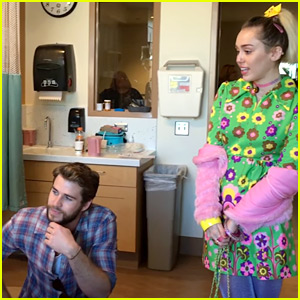 VIDEO: Miley Cyrus Cries While 8-Year-Old Cancer Patient Sings for Her