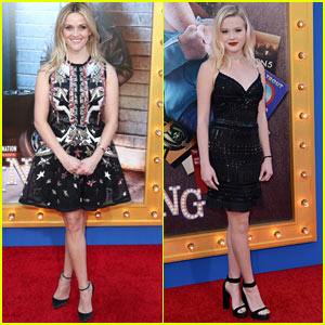 Reese Witherspoon is Joined by Daughter Ava Phillippe at 'Sing' Premiere!