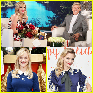 VIDEO: Reese Witherspoon Tells 'Ellen' It Was Really Hard Covering Katy Perry & Taylor Swift For 'Sing'!