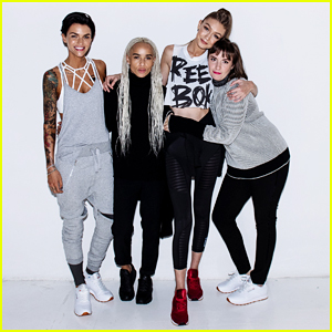 VIDEO: Ruby Rose, Zoe Kravitz & Lena Dunham Join Gigi Hadid At Reebok #PerfectNever Panel!